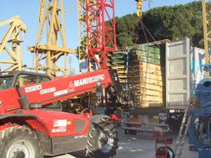 crane exportation